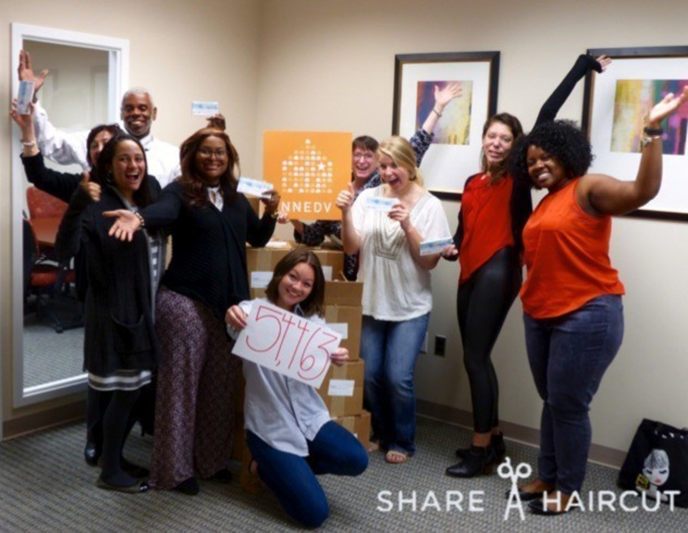 Hair Cuttery Donates 55000 Haircuts To Victims Of Domestic Violence