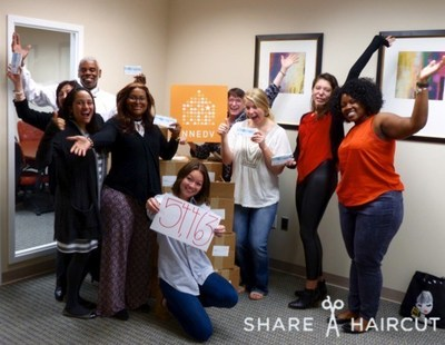Through the May Share-A-Haircut program, Hair Cuttery and the National Network to End Domestic Violence will donate 55,000 free haircut certificates to victims of domestic violence nationwide.
