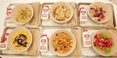 New @KelloggsNYC cereal cafe offers dishes featuring Kellogg's cereals combined with unique ingredients, all served with a side of fun.