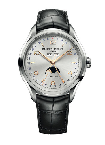 Baume & Mercier Announces Premiere of Men's Watch Collection and Celebrity Design Collaboration to