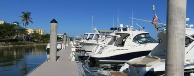 The Alexander All Suite Oceanfront Resort features a marina perfect for docking a boat during the 2016 Progressive Insurance Miami International Boat Show on Feb. 11-15, 2016. For dockage rates and rental information, visit www.alexanderhotel.com or call 1-844-773-8326.