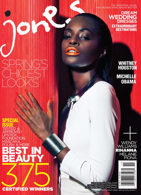 Jones Magazine Breaks New Ground With The 2nd Annual Best In Beauty Awards Issue On Newsstands April 26, 2012