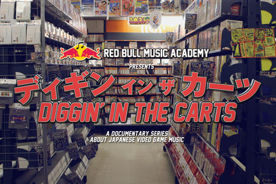 Red Bull Music Academy Presents Diggin' In The Carts. (PRNewsFoto/Red Bull Music Academy)
