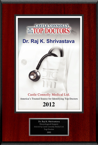 Dr. Raj Shrivastava is recognized by Castle Connolly as one of the Regional Top Doctors® in