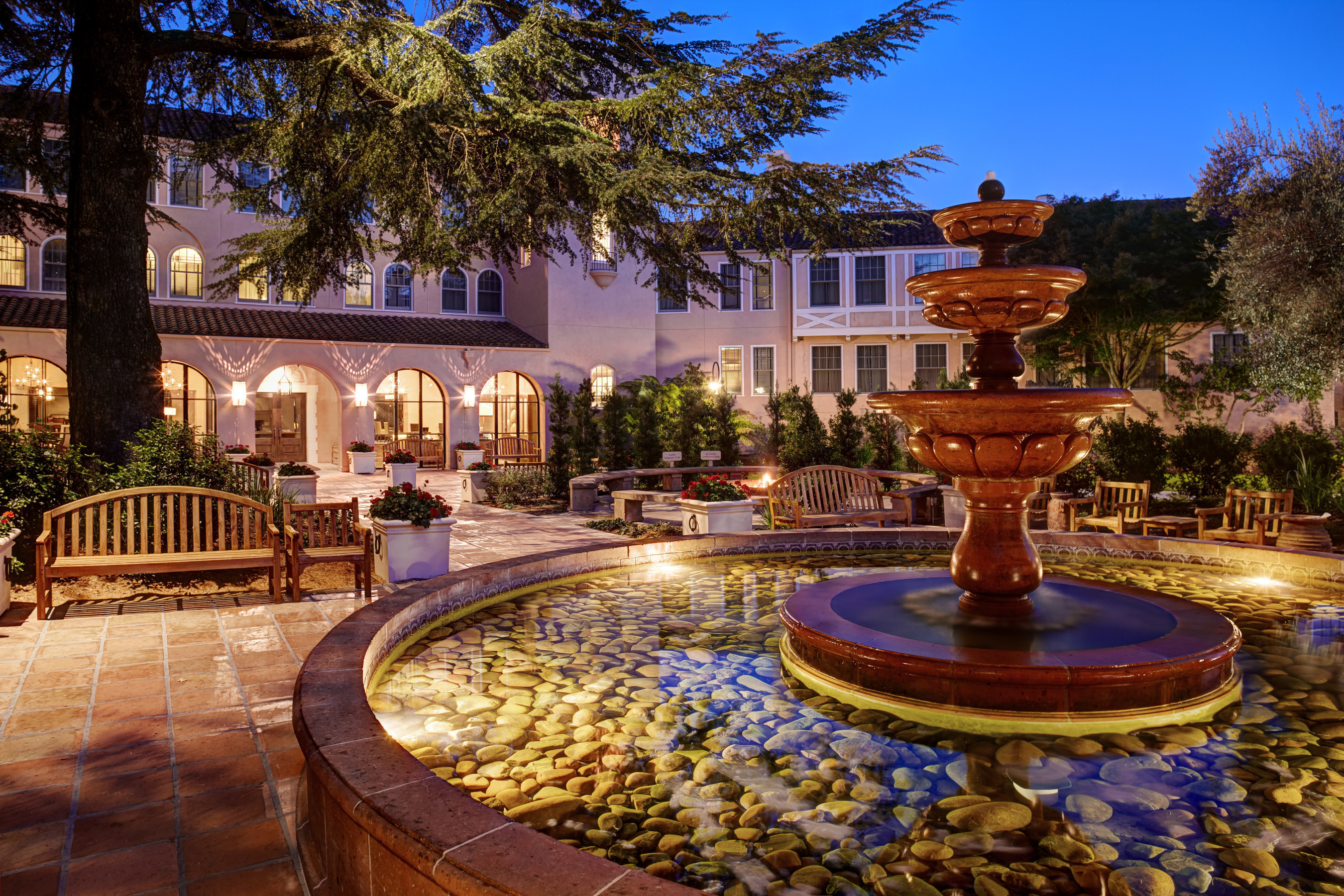 Carey Watermark Investors Incorporated acquired the remaining 25 percent interest in the Fairmont Sonoma Mission Inn & Spa, bringing its ownership of the property to 100 percent.