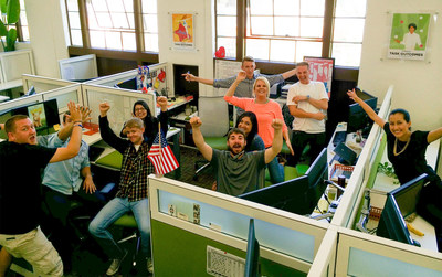 ONTRAPORT named one of Outside Magazines Best Places to Work in 2014. (PRNewsFoto/ONTRAPORT)