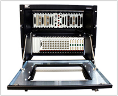 The CMX34 Integrated PXIe/LXI Chassis.  (PRNewsFoto/VTI Instruments)