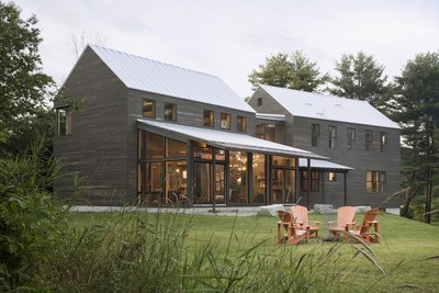 """The Red Diamond Achiever program from Integrity Windows and Doors recently announced its 2015 winners, including """"Ben's Barn"""" in Maine."""