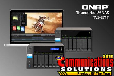 QNAP TVS-871T Thunderbolt NAS
