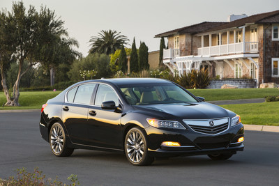 The 2017 Acura RLX goes on sale tomorrow.