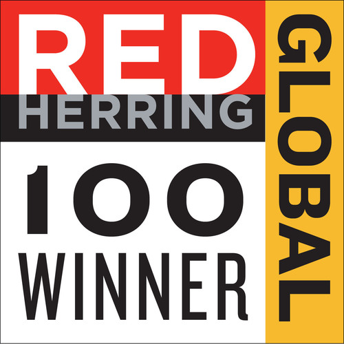 Red Herring Global Top 100 Winner.  (PRNewsFoto/Eco Consumer Services)