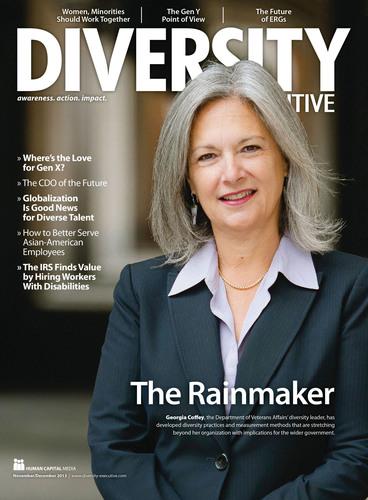 Diversity Executive magazine - November edition.  (PRNewsFoto/PRISM International, Inc.)