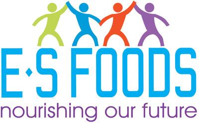 ES Foods logo.
