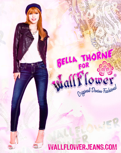 Bella Thorne (Disney's Shake It Up!) Announced as the New Celebrity Spokesperson for WallFlower Jeans.  (PRNewsFoto/WallFlower Jeans)