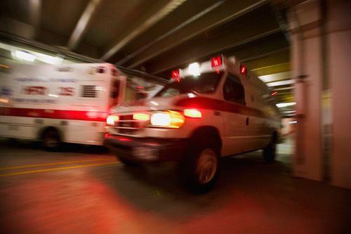 ACEP Salutes 40th EMS week. EMS: Dedicated. For Life. This image must be used in conjunction with the news ...
