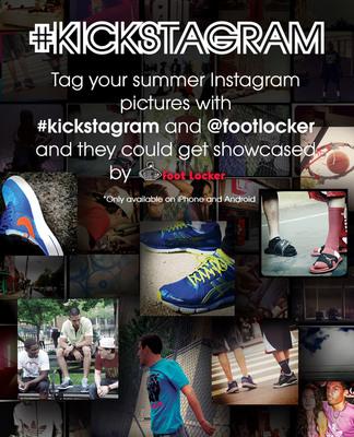 Foot Locker Launches #Kickstagram