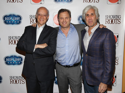 Michael Mailer with his partners, Martin Tuchman and Alan Helene, announce the premiere of Showing Roots -- Thursday, May 26 at 10/9c.