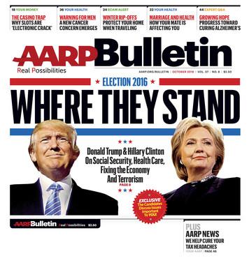 October AARP Bulletin Cover