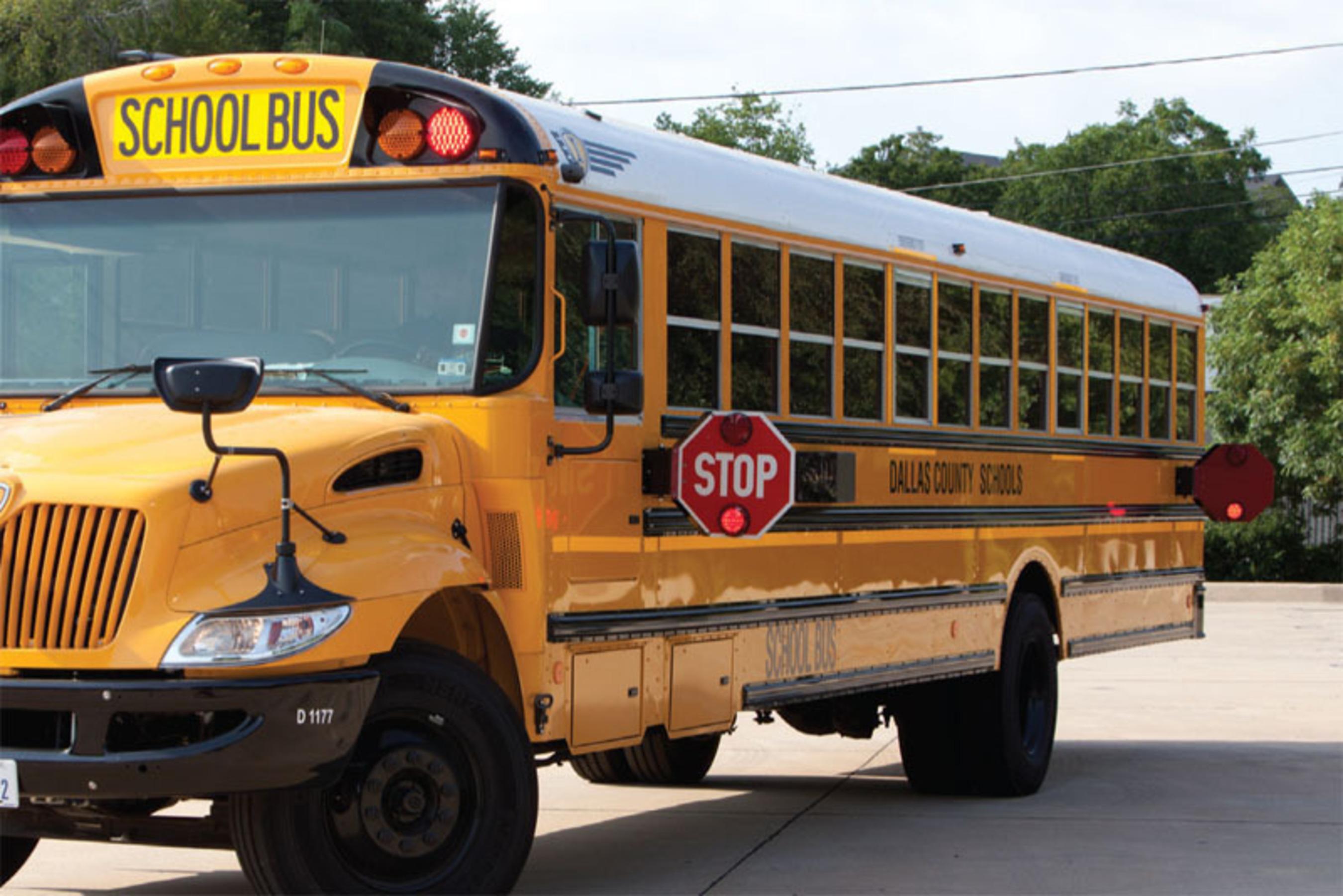 Dallas County Schools School Bus. (PRNewsFoto/Dallas County Schools) (PRNewsFoto/DALLAS COUNTY SCHOOLS)