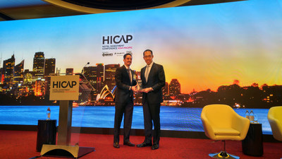 Dr. Daryl Ng JP, Director of Hong Kong Heritage Conservation Foundation Limited received the '2015 Sustainable Hotel Award - Sustainable Destinations' award