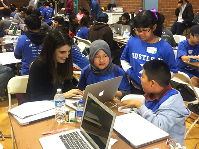 Bel Air Internet mentors teach programming to South L.A. youths