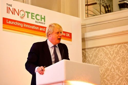Boris believes tech startups can lead the UK out of recession (PRNewsFoto/The InnoTech Summit)