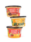 Boulder Organic Foods adds 3 hearty new soups to its garden-fresh lineup - Bacon Potato Corn Chowder, Broccoli Cheddar Soup and Tomato Bisque.