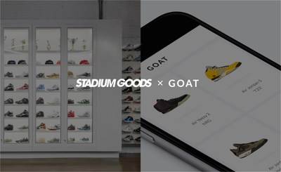Stadium Goods & GOAT Launch New Partnership Elevating The Mobile Sneaker Marketplace
