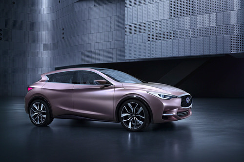 Infiniti releases first image of sleek, seductive Q30 Concept ahead of world premiere at Frankfurt