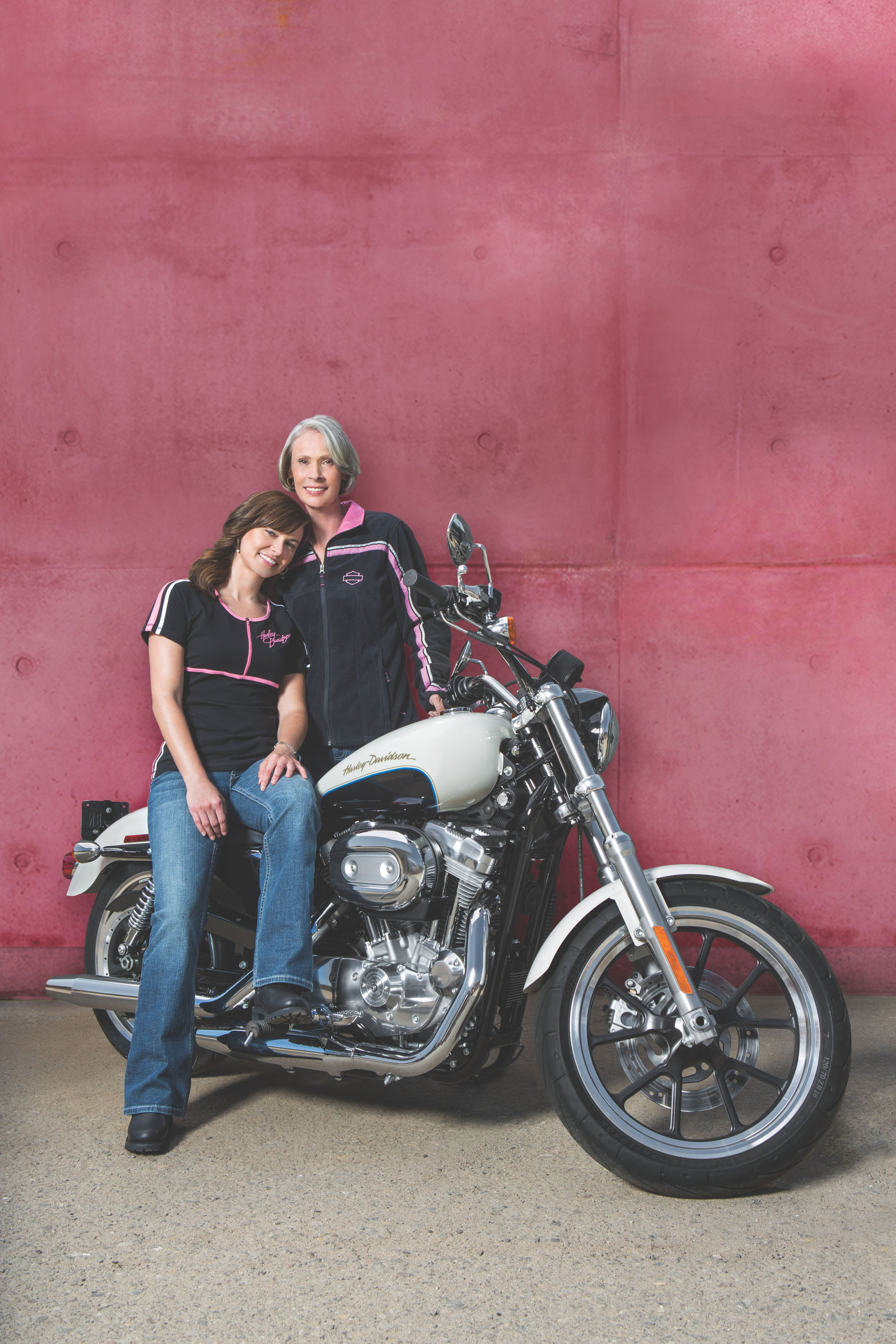 Thanks to the generosity of Harley-Davidson motorcycle riders, fans and dealers, the H-D Pink Label Collection generated more than $1 million for organizations that support and empower women affected by breast cancer.  (PRNewsFoto/Harley-Davidson, Inc.)