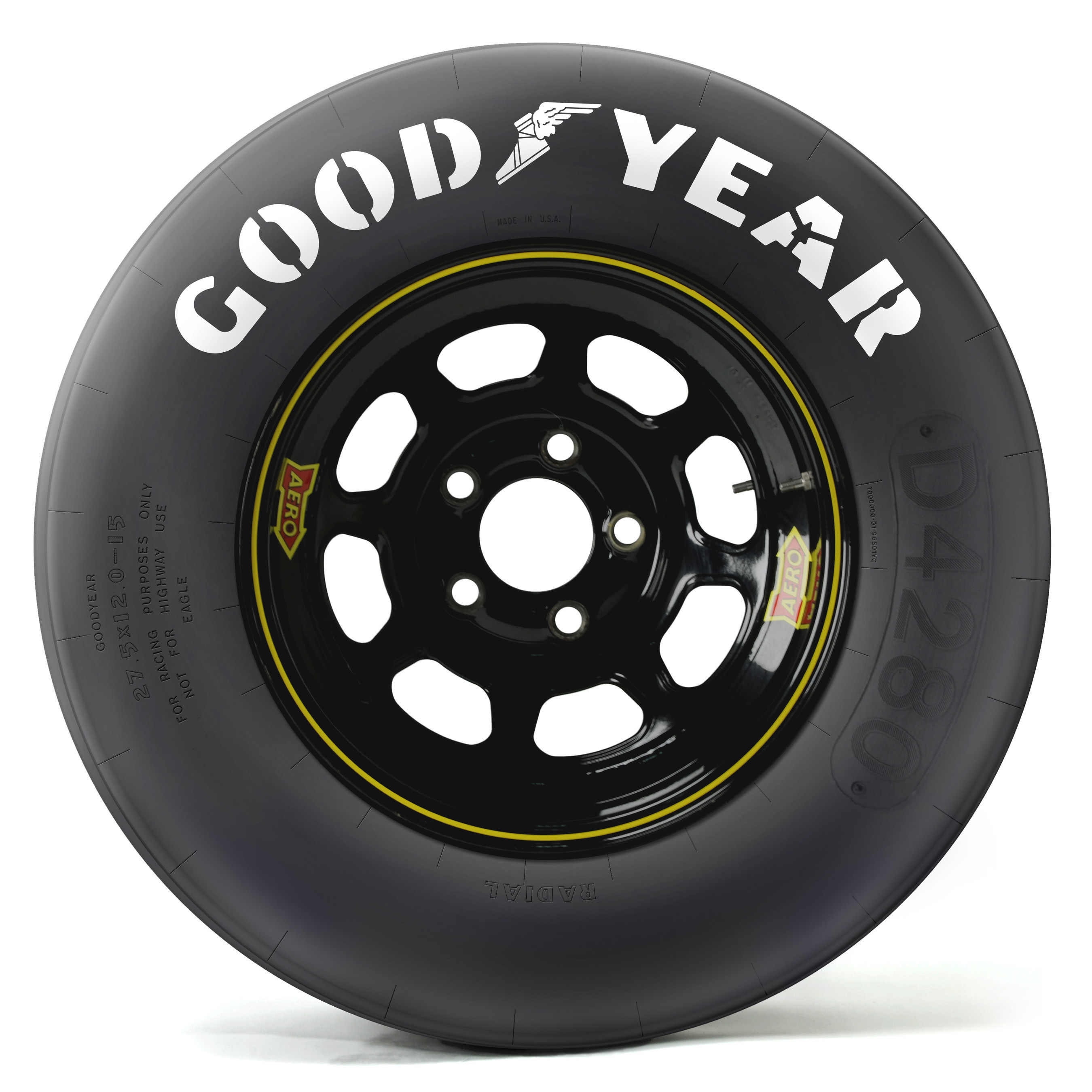 Goodyear Racing Tires >> Goodyear Creates Throwback Nascar Tires For Darlington Race Weekend