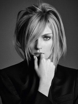 """Kerastase presents Anja Rubik, the face of """"Visions of Style II"""" for L'Incroyable Blowdry (PRNewsFoto/Kerastase) (PRNewsFoto/Kerastase)"""