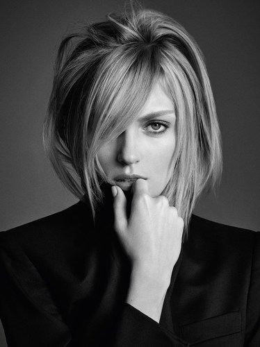 """Kerastase presents Anja Rubik, the face of """"Visions of Style II"""" for L'Incroyable Blowdry ..."""