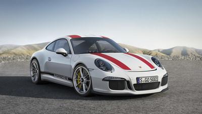 Porsche introduces the new 911 R.