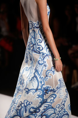 PANDORA Jewelry featured in Vivienne Tam's Spring 2015 fashion show at Lincoln Center on September 7, 2014 in New York City