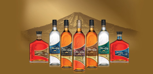 Flor de Cana's striking new look celebrates the slow-aged rum's global growth.  (PRNewsFoto/Flor de ...