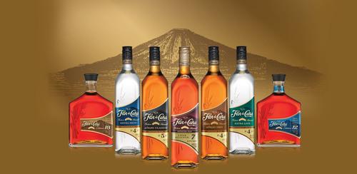 Flor de Cana's striking new look celebrates the slow-aged rum's global growth.  (PRNewsFoto/Flor de ...
