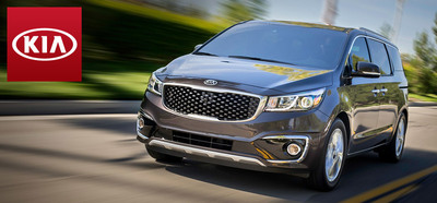 The 2015 Kia Sedona is one of the most highly anticipated upcoming models on the Portsmouth Kia lot. (PRNewsFoto/Portsmouth Kia)