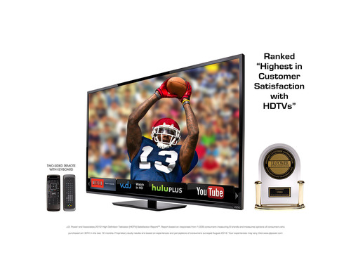 VIZIO Leads Large 60'+ Size Sales in Q4 2012 with E-Series LED Smart TVs
