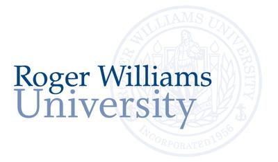 Roger Williams University logo.