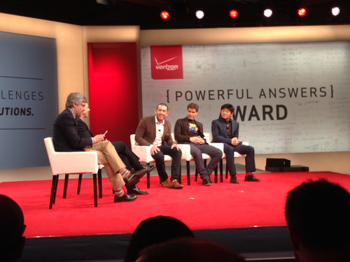 Mosaic awarded $1 Million Powerful Answers Award from Verizon in Las Vegas. (PRNewsFoto/Mosaic) (PRNewsFoto/MOSAIC)