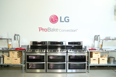 LG's ProBake Convection(tm) ranges incorporate convection technology found in commercial grade ovens and help home chefs achieve more professional cooking and baking results at home.