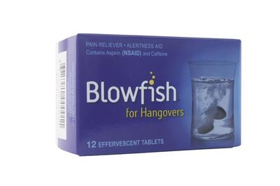 Blowfish for Hangovers.  (PRNewsFoto/Rally Labs LLC)