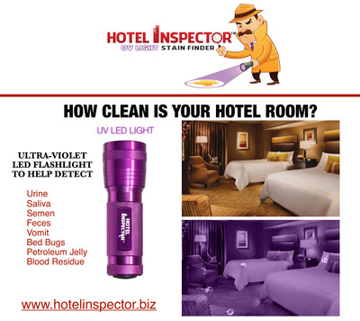 HOW CLEAN IS YOUR HOTEL ROOM?  (PRNewsFoto/Hotel Inspector)