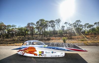 Cars Using TeXtreme® Successful in Solar Race