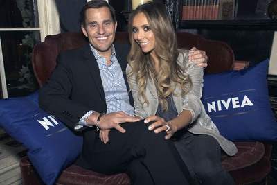 NIVEA Romance Ambassadors, TV Personalities Bill and Giuliana Rancic, Help Couples Everywhere Be Ready for Romance This Valentine's Day.  (PRNewsFoto/NIVEA)