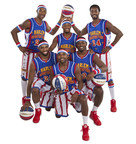 The Harlem Globetrotters' 2015 rookie class includes: (Standing, l-r) Smooth Staples, Turbo Davis, Dragon Taylor; (Kneeling, l-r) Crash Beaty, Dizzy English, Spider Sharpless