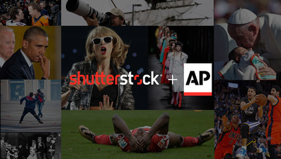 Shutterstock Editorial Announces Multiyear U.S. Distribution Deal with The Associated Press