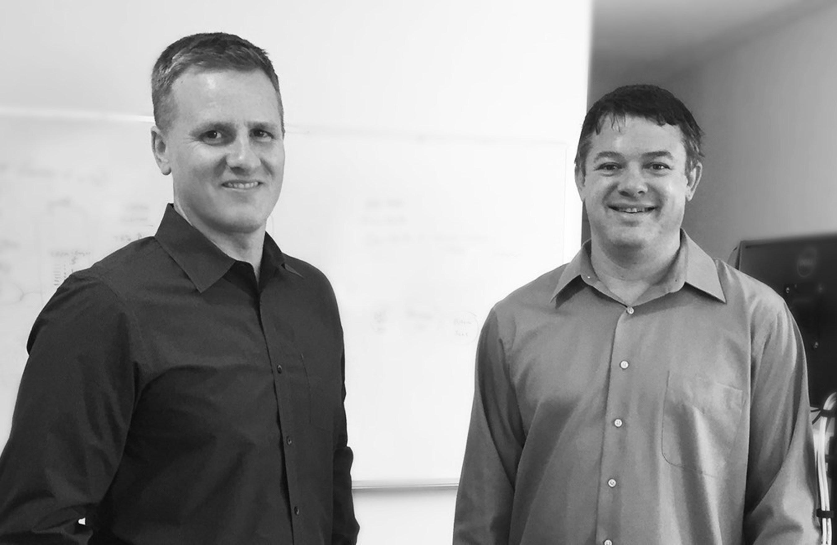 AdAgility Co-Founders Bryan Seastead and Doug Mitchell