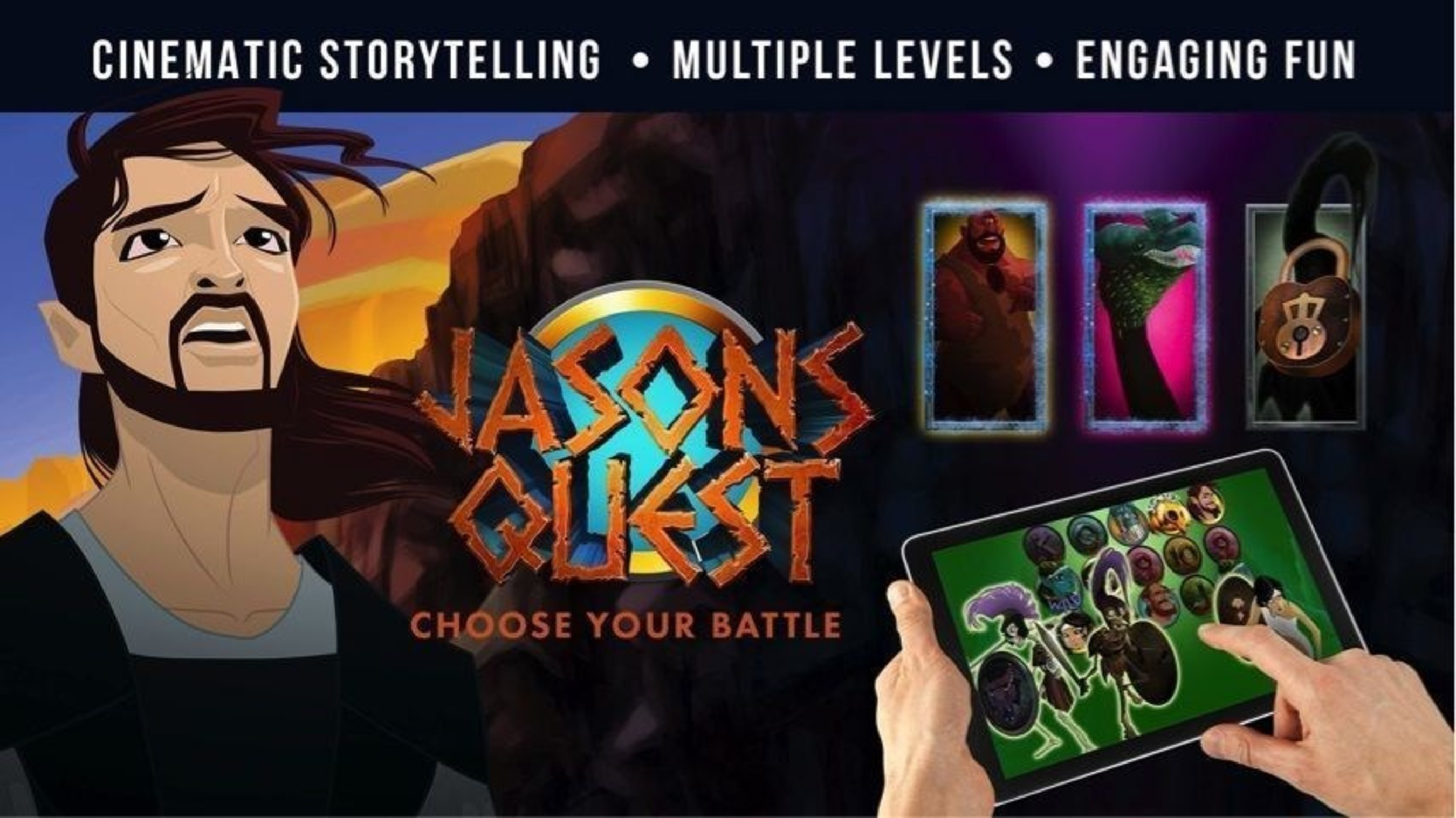 Genesis Gaming Announces Jason's Quest Video Slot Game